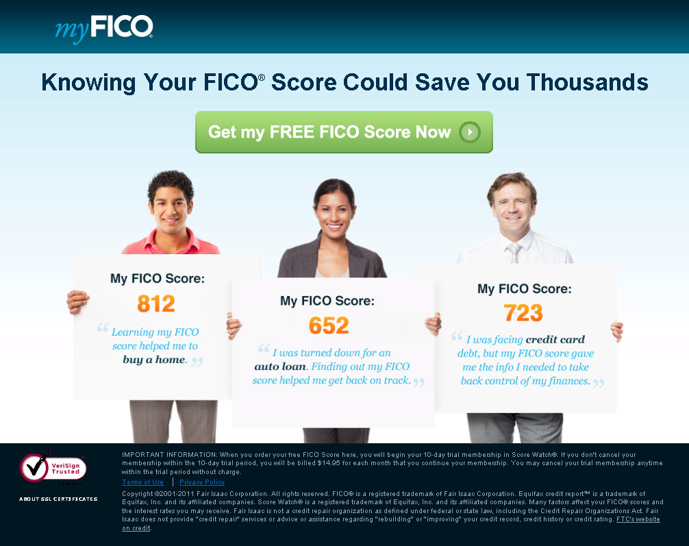 Your FICO Scores…Experian, Equifax and Transunion Sell them to Lenders….but Sell a FAKE to You!
